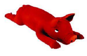 Brinquedo de Látex Leitãozinho - Latoy - 32,5 cm