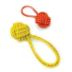 Brinquedo de Corda Rope Ball Plus - Chalesco - 20x7cm