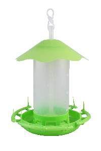 Comedouro plastico automatico para passaros livres - Club Pet Alvorada - 20x24cm