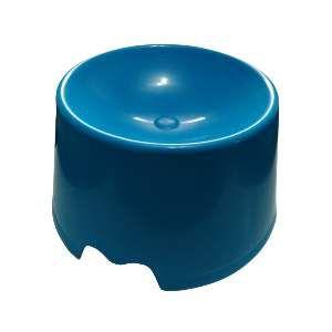 Comedouro plastico feed cat azul - Club Pet Maxx - 15x10x18cm