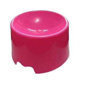 Comedouro plastico feed cat rosa - Club Pet Maxx - 15x10x18cm