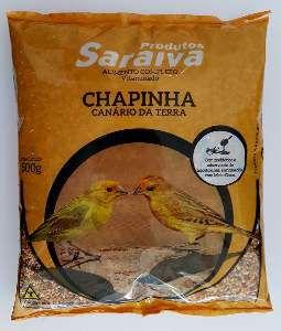 RACAO CANARIO TERRA CHAPINHA 10UNX500G P*0