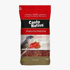 RACAO CANTO NATIVO PIMENTAS NATIVAS 5KG P*0