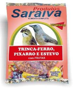 RACAO C/FRUTAS P/PIXARRO 10UNX500G P*0