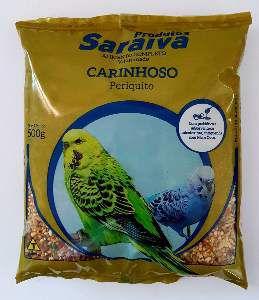 RACAO PERIQUITO CARINHOSO 10UNX500G P*0