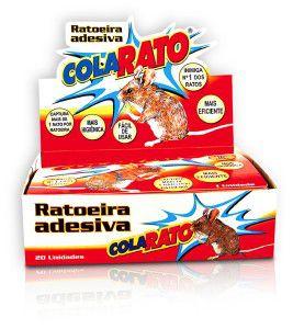 RATOEIRA ADESIVA COLA RATO C/20UN P*0