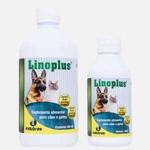 Suplemento vitaminico linoplus 180ml - Indubras - 5,5 x 5,5 x 13 cm