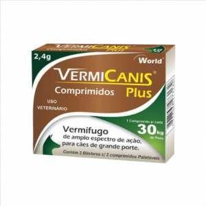 VERMIFUGO VERMICANIS 2,4G C/4 COMP P*3