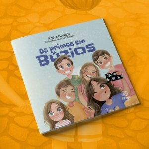 """Livro """"Os primos em Búzios"""" - LANÇAMENTO"""