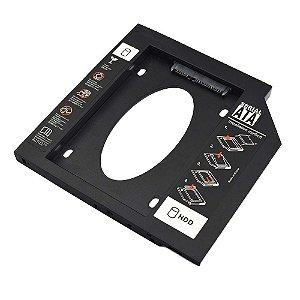 ADAPTADOR HDD/SSD PARA NOTEBOOK BAIA 9.5mm