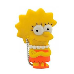 PEN DRIVE USB LISA SIMPSONS , 8GB