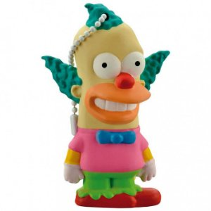 PEN DRIVE USB KRUSTY SIMPSONS, 8GB