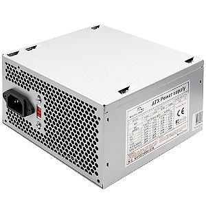 FONTE ATX  400 W (200W REAL)  CLASSE II