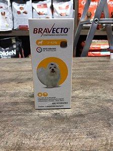 Bravecto 2 - Prevenção de carrapato e pulgas -  4,5 kg