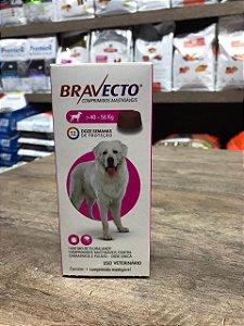 Bravecto 40 - 56 kg -  Prevenção carrapatos e pulgas
