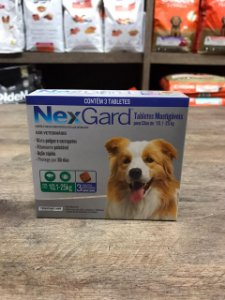 Nexgard 10,1 a 25 kg