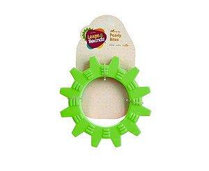 Brinquedo para Cães Mordedor Roda com Texturas Verde