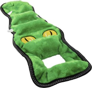 Brinquedo Resistente para Cães Cabo de Guerra Crocodilo
