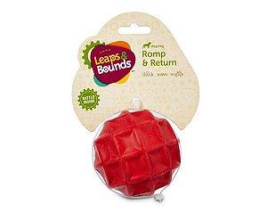 Brinquedo para Cães Bola de Borracha Chocalho