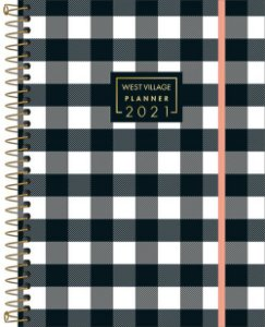 Planner West Village 2021 Quadrados