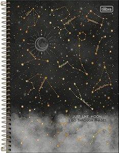 Caderno Universitário 1 Matéria Magic Constelações
