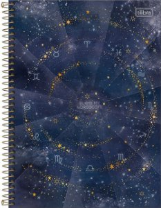 Caderno Universitário 1 Matéria Magic Azul