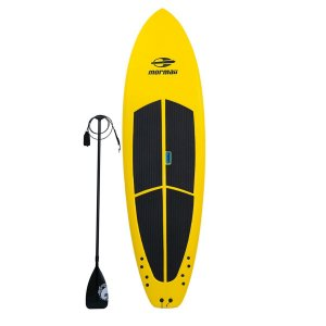 Prancha Stand Up Paddle Mormaii Sup Soft Amador Amarelo