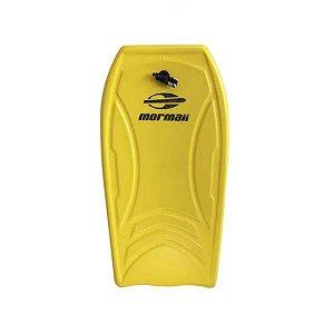Prancha Bodyboard Surf Mormaii Soft Semi Pro Amarelo