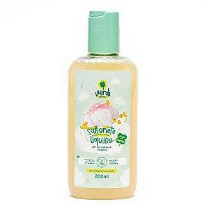 Sabonete Líquido e Shampoo Com Óleo Essencial De Menta
