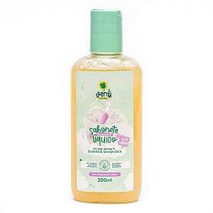 Sabonete Líquido E Shampoo Infantil Relaxante