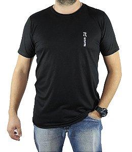 Camiseta Zk Adventure Lisa Preta Masculina