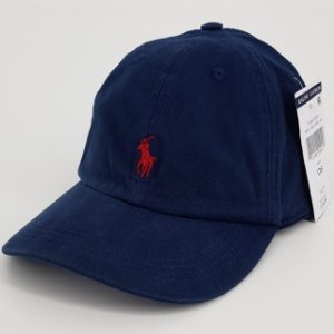 Boné Polo Ralph Lauren Cotton Chino Baseball Azul marinho