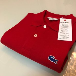 Camisa Polo Lacoste Limeted Edition Vermelha