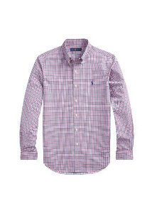 Camisa Ralph Lauren Masculina Custom Fit Plaid