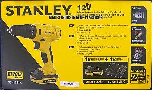 Furadeira de Impacto 12v com 1 Bateria Stanley