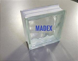 Bloco de Vidro Incolor ( Madex )