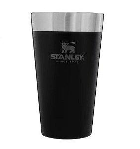 Copo Térmico Stanley De Cerveja Sem Tampa Mate Black 473ml