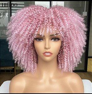 Wig tradicional rosa