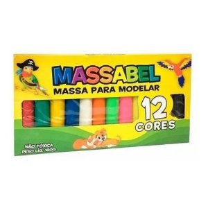 MASSA P/MODELAR C/12 CORES 180g