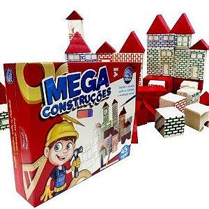 MEGA CONSTRUCOES 45 PCS - MADEIRA