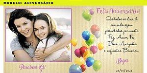 canecas personalizadas - Tema Aniversário