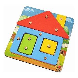 Brinquedo Educativo - Casa Pedagógica