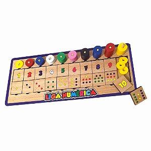 Jogo Pedagogico Interativo Liga Numerica