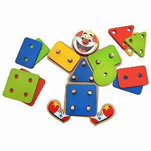 Brinquedo Educativo - Palhaço Pedagógico