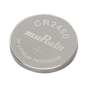 5 Baterias Pilha Sony / Murata Cr 2450 Bateria Original Relógio Placa