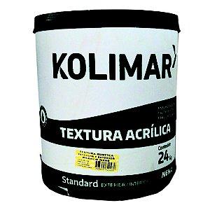Textura Kolimar Rustica 24kg Branca Int/Externa