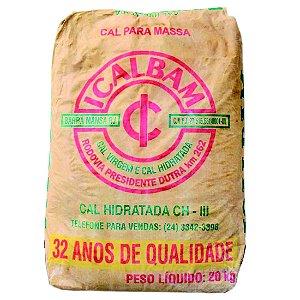 Cal Hidratada CH III 20kg - Icalbam