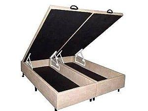 CAMA BOX BAÚ CASAL TODO BIPARTDO 138X188