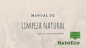 Manual de Limpeza Natural (casa) + materiais