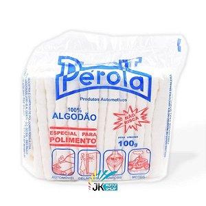ALGODÃO ESPECIAL PARA POLIMENTO 100G - PÉROLA
